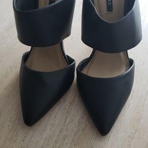 Black Heeled Stilettos